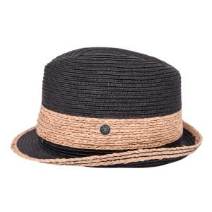 Bugatti ψάθινο καπέλο B300-266834759/BLACK