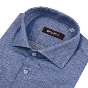 Besilent πουκάμισο BSCA0184/AZZURRO