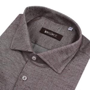 Besilent πουκάμισο BSCA0184/MORO