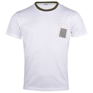 Paul miranda T-shirt ME989/BIANCO
